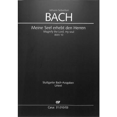 KANTATE 10 MEINE SEEL ERHEBT DEN HERREN BWV 10