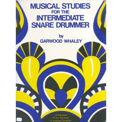 Musical Studies For The Intermediate Snare Drummer