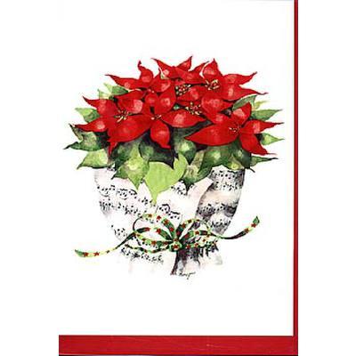 doppelkarte-notenstrauss-weihnachtsstern