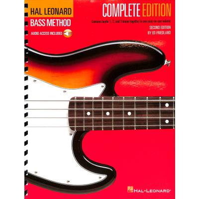 Hal Leonard electric bass method composite