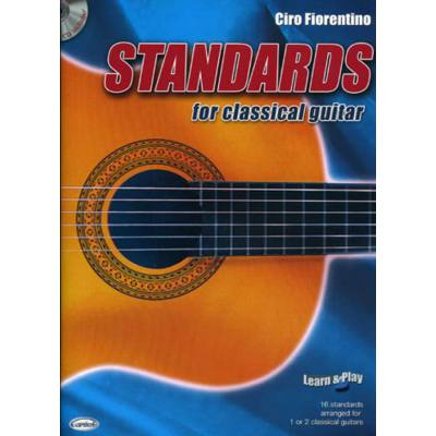 Standards for classical guitar