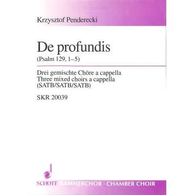 DE PROFUNDIS (PSALM 129/1-5)