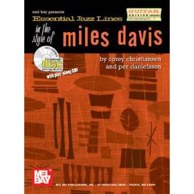 ESSENTIAL JAZZ LINES IN THE STYLE OF MILES DAVIS