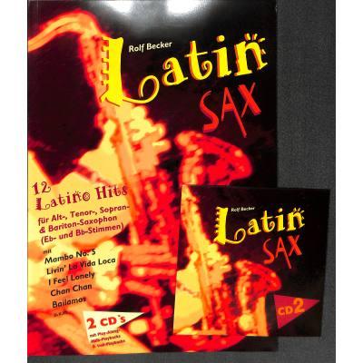Latin Sax - 12 Latino Hits