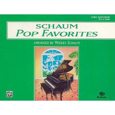 POP FAVORITES - ELEMENTARY A BOOK