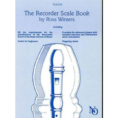 recorder-scale-book