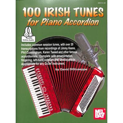 100 IRISH TUNES FOR PIANO AKKORDEON jetztbilligerkaufen