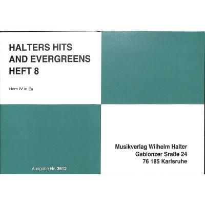 HALTERS HITS + EVERGREENS 8
