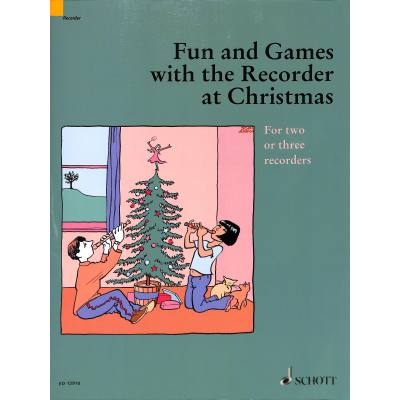 FUN + GAMES WITH THE RECORDER AT CHRISTMAS jetztbilligerkaufen