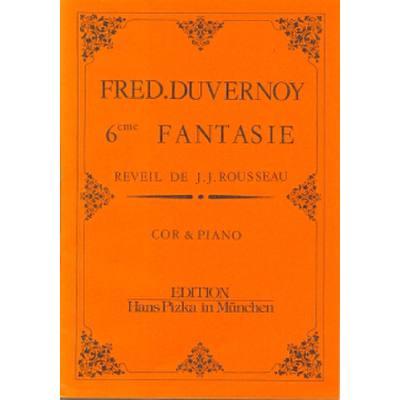 Fantasie 6 (nach J J Rousseau)