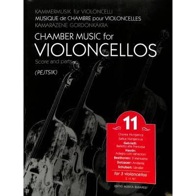 Kammermusik fuer Violoncelli 11