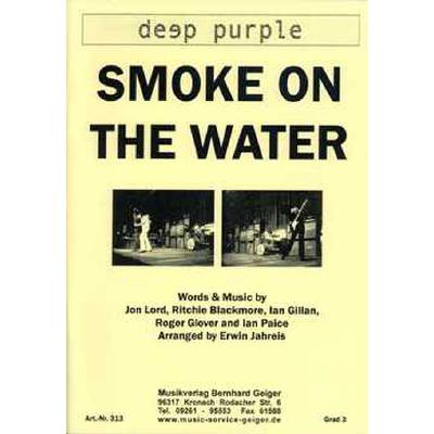 smoke-on-the-water, 79.90 EUR @ notenbuch-de