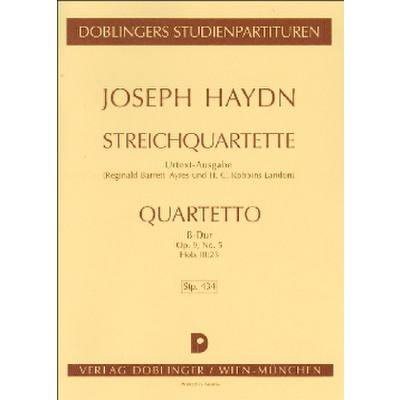 quartett-b-dur-op-9-5-hob-3-23
