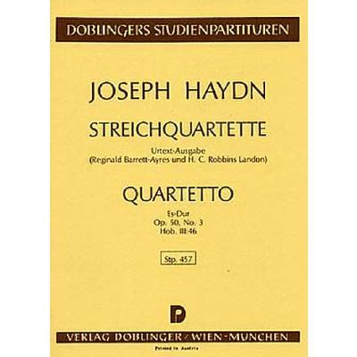 quartett-es-dur-op-50-3-hob-3-46