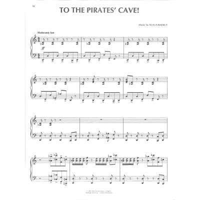 Pirates Of The Caribbean Notenbuchde