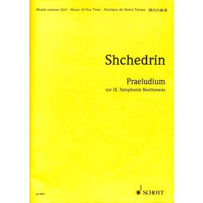 PRAELUDIUM ZUR SINFONIE 9 (BEETHOVEN) (1999)
