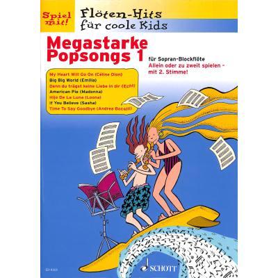 MEGASTARKE POPSONGS 1