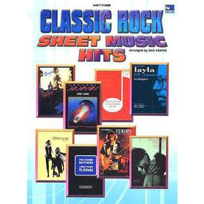 Classic Rock Sheet Music Hits
