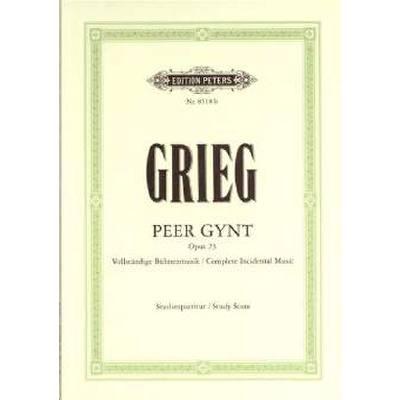 Peer Gynt op 23 vollständige Bühnenmusik