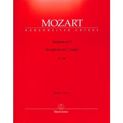 Sinfonie 28 C-Dur KV 200