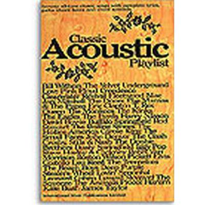 Classic acoustic playlist 1