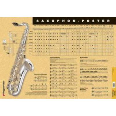 saxophon-poster