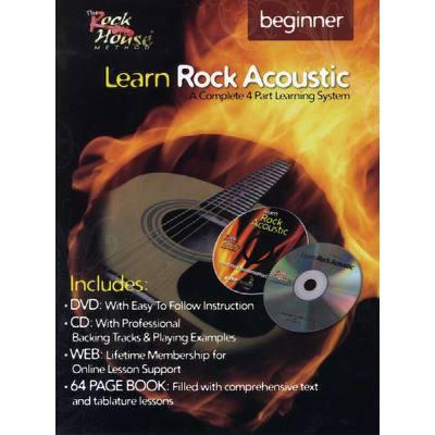 LEARN ROCK ACOUSTIC - BEGINNER
