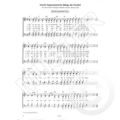 Die straße zusammenführen liedtext möge uns Deutsch gesungene
