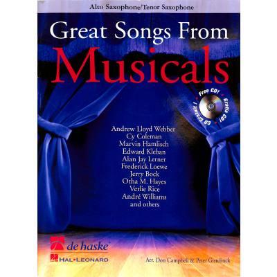 great-songs-from-musicals, 20.00 EUR @ notenbuch-de