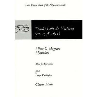 o-magnum-mysterium-missa