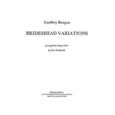 BRIDESHEAD VARIATIONS FOR ORGAN SOLO (1985)