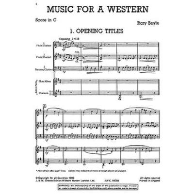 music-for-a-western