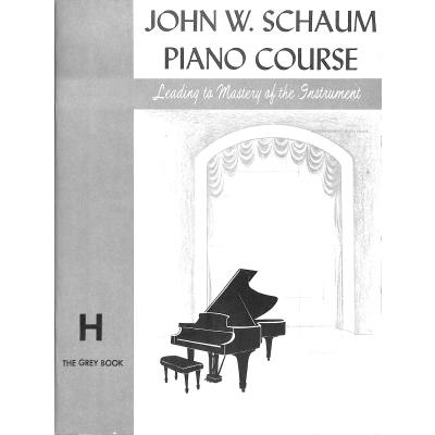 PIANO COURSE H - THE GREY BOOK
