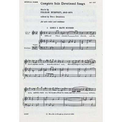 COMPLETE SOLO DEVOTIONAL SONGS