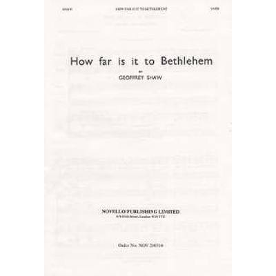 how-far-is-it-to-bethlehem