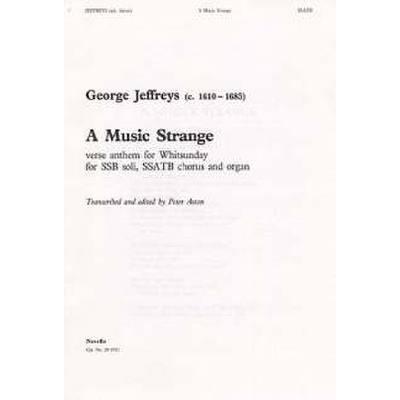 MUSIC STRANGE
