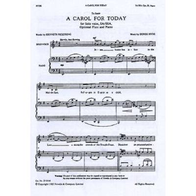 a-carol-for-today