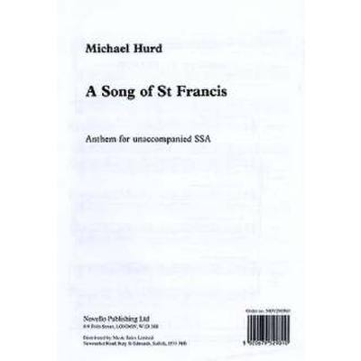 song-of-st-francis