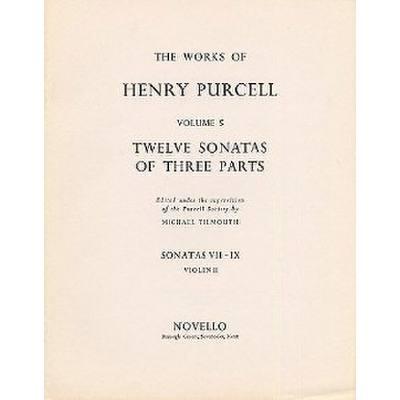12 SONATAS OF THREE PARTS 7 8 9 jetztbilligerkaufen