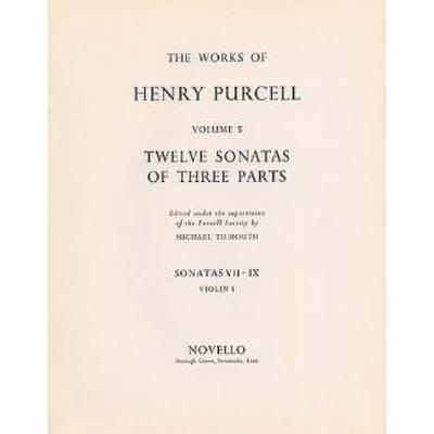 12 SONATAS OF 3 PARTS 10 11 - broschei