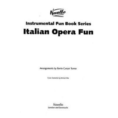 ITALIAN OPERA FUN BOOK jetztbilligerkaufen