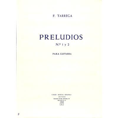PRELUDIOS 1 + 2