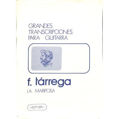 La Mariposa 32 Studies Op 30 Notenbuchde