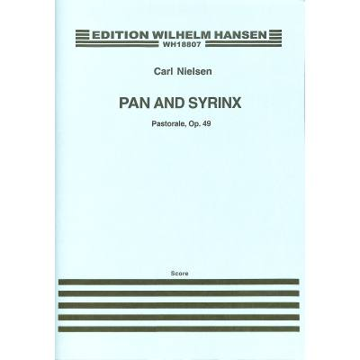 PAN + SYRINX - PASTORALE OP 49