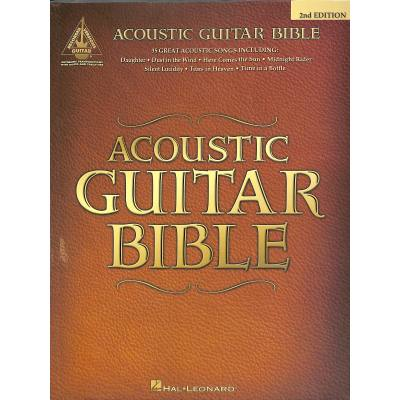 Acoustic guitar bible