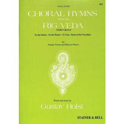 choral-hymns-from-the-rig-veda, 8.95 EUR @ notenbuch-de