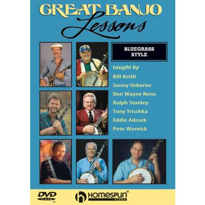 GREAT BANJO LESSONS - BLUEGRASS STYLE