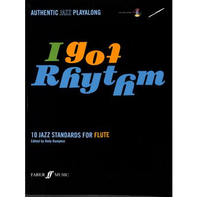 Faber Music Hampton Andy - I Got Rhythm + Cd Flute And Piano - broschei