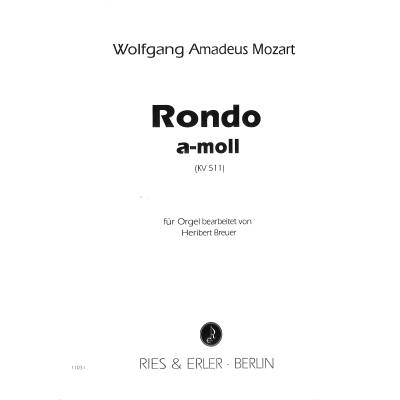RONDO A-MOLL KV 511
