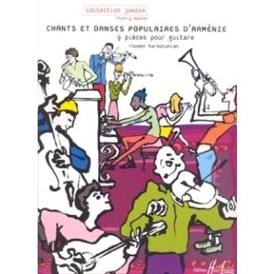 CHANTS ET DANSES POPULAIRES D'ARMENIE